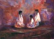 """The Story Teller"" www.sfago.com Sharon Abbott-Furze"