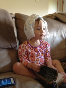 """Princess Diaper Head"""
